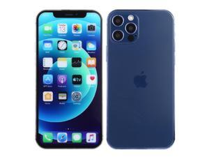 Color Screen Non-Working Fake Dummy Display Model for iPhone 12 Pro Max (6.7 inch)(Aqua Blue)