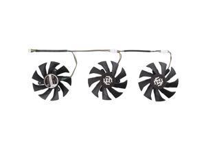 3 PCS Graphics Card Cooling Fan for Zotac GTX 1070-8GD5 X-OC, Diameter: 85mm