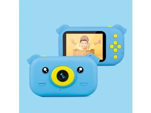 Kids Camera, 2.4 inch Screen 1080P High-definition Shatter-resistant Ultra-thin Children Camera HD Photo and Video