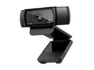 Logitech C920 1080P Live Broadcast HD WebCam, Video conference, online office, online education