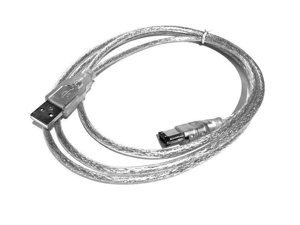 USB MALE TO IEEE 1394 6 PIN FIREWIRE for Digital Camera Video Camera DV 1394 Double Layers Shielding Cable