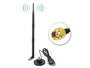 2.4GHz 5.8GHz WiFi 9dBi RP-SMA Magnetic Antenna for WiFi TP-Link ASUS Router AP