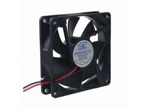 8cm 80mm 80x80x20mm 24V 2pin Brushless fan Cooling Cooler Fan Big Airflow