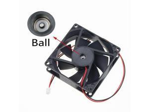 80x80x25mm Ball Bearing 48V Brushless fan Cooling Cooler Fan 8cm 80mm 2pin