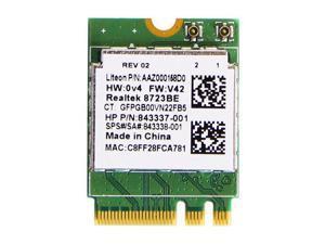 HP RTL8723BE WiFi Bluetooth4.0 SPS 843338-001 843337-001 NGFF Wireless WIFI Card