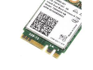 300M Intel 802.11N 7265NGW NB 2.4/5GHz Bluetooth4.0 NGFF Wi-Fi Wireless Card
