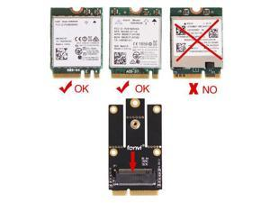 A Key M.2/NGFF Wlan Card to PCI-E Converter Adapter Card for PC Laptop