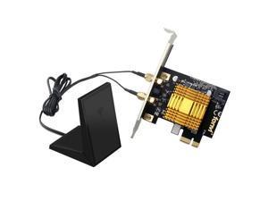 300Mbps AR5B22 Killer1202 WiFi Wireless Adapter Desktop PCI-Ex1 Heatsink BT 4.0