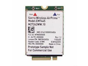 Thinkpad P50 Sierra Wireless EM7445 4G LTE WWAN NGFF M.2 Card For Lenovo IBM