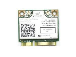 Intel Wireless-N 7260 7260HMW AN Dual Band WIFI Bluetooth 4.0 Mini PCI-E Card