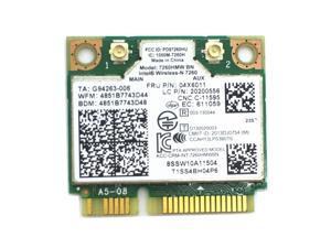 Lenovo Intel 7260HMW 300Mbps BN FRU:04x6011 Bluetooth 4.0 Wifi Mini Pcie Card