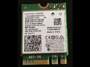 Intel AC 3168NGW Dual Band Wireless wifi Bluetooth 4.2 M2 Card lenovo 01ax706