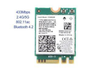 BCM94352Z NGFF Wireless Bluetooth WiFi Card 867Mbps WLAN 04X6020 For Lenovo  TS - Newegg com
