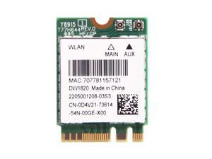 DELL DW1820 Dual Band 802.11ac NGFF 867Mbps WiFi+Bluetooth4.1 WLAN Wireless Card