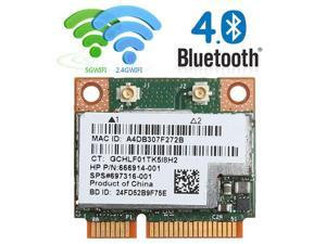 Refurbished: HP ProBook 450 G2 Wifi Bluetooth 4 0 MINI Card RT8723BE  752601-001 753077-001 - Newegg com