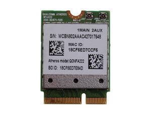 802.11n a/b/g/n QCNFA222 2.4/5GHz WiFi Bluetooth PCIe Half Mini Card For Atheros