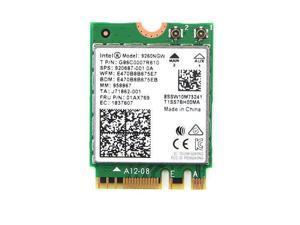Intel 9260 9260NGW Dual Band 1730Mbps NGFF Wifi Wireless-AC Card Bluetooth 5.0