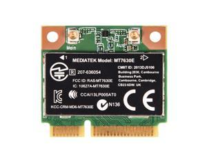 For Intel MT7630E 2.4G WiFi Wireless Bluetooth 4.0 PCI-E Half Wifi Card