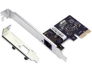 PCI-E PCIe Rj45 1000Mbps Gigabit Ethernet LAN Card with Low Profile RTL8111