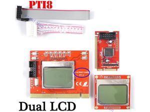 Dual Screen Mainboard LCD Post Test Card Mini PCI-E-PCI-LPC Laptop Desktop PC