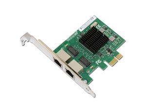 E575T2 Dual-port PCI-E X1 Gigabit Ethernet Network Card 10/100/1000Mbps LAN Adapter Controller Wired intel 82575 E1G42ET