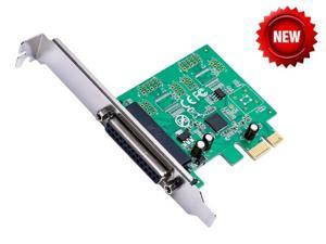 PCIE Printer DB25 Parallel Port LPT to PCI-E PCI Express Card Adapter Converter AX99100 Chipset Win8 Win10 Android IEEE 1284