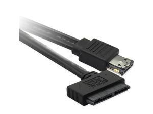 """0.5m 16 pin 7+7+2pin Micro SATA 1.8"""" HDD SSD to Power eSATA esata+usb combo cable"""