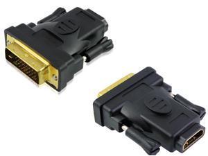 DVI 24+1 Male to HDMI Female  Adapter
