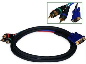 VGA to 3 RCA Component Video Cable  1.8m