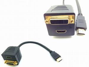 HDMI to hdmi+dvi  cable