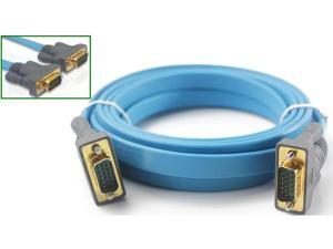 VGA flat cable computer tv hd ultra-thin line 1.8 meters VGA male to male