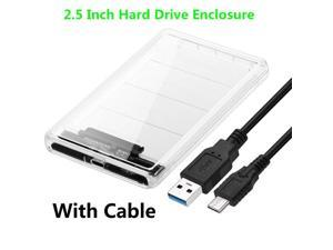 "2.5"" USB  External Hard Drive Enclosure for 2.5 Inch SATA HDD and SSD"