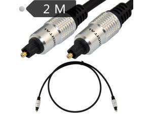 Fiber optic audio line, digital sound, fiber line, Digital Fiber Optical Toslink Audio cable 2.0M