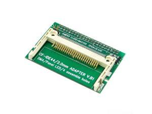 """CF Compact Flash Merory Card to Vertical 2.5"""" 44 Pin IDE Hard Disk Drive HDD SSD Adapter"""