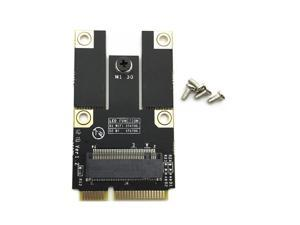 A Key M.2/NGFF Wlan Bluetooth Card to PCI-E Converter Adapter Card for PC Laptop New
