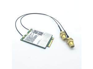 A Pair of IPEX MHF4  to RP-SMA Pigtail for Laptop /Embedded Antenna for WWAN 3G/4G/LTE ME906E NGFF / M.2 Module