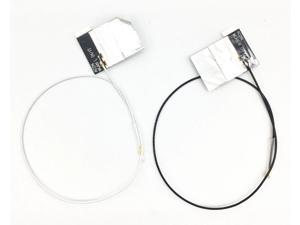 """A Pair of 20cm/7.8"""" Built-in antenna NGFF MHF4 for 3G 4G LTE Module WCDMA NGFF/M.2 Network Signal Receiving Antenna(B+W)"""