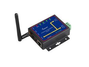Wifi & Ethernet RJ45 To RS232 & RS485 WIFI Serial device Server converter Module support TCP/UDP/IP P2P