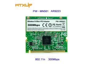 For Atheros AR9223 300Mbps Mini PCI Wireless N WiFi Adapter PW-MN561 Mini-PCI WLAN Card for Acer Asus Dell Toshiba
