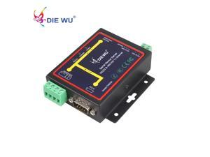 RJ45 to RS232 RS485 Industrial male converter TCP/UDP Serial RS232 RS485 to Ethernet Device Server