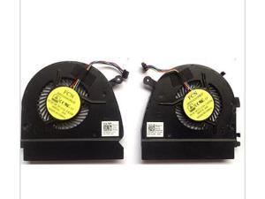 Laptop CPU Cooling fan for DELL V5460 VOSTRO 14z-3526 14-5439 V5470 DFS531005PL0T Left&Right pair CPU Cooling Fan