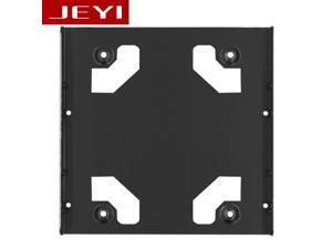 K106 All-aluminum Two 2.5-inch to 3.5-inch desktop hard drive Bracket SSD Bracket 2.5 TO 3.5 SSD TO 3.5 Frame Caddy bracket