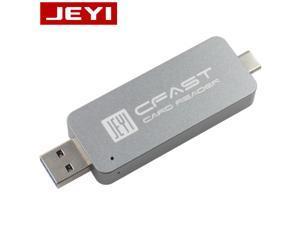 CFast Card Reader USB3.0 USB3.1 TYPE-C TYPE-A Dual Port USB-A USB-C Portable CFast2.0 Reader USB3.1 GEN2 10Gbps