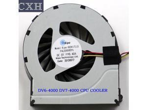 Laptop For HP-pavilion dv6 dv7 dv6-3000 dv7-4000 Series SPS-622032-001 3pin CPU Cooling fan