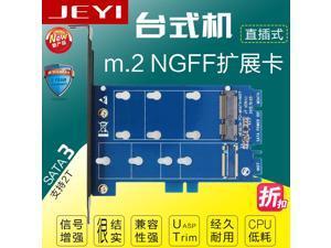 SK1 desktop mSATA to SATA mini SATA to SATA3 adapter SSD expansion card mini SATA to SATA SATA3 add in card fast speed NEW