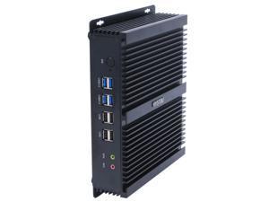 HYSTOU FMP04B-i5-4200U Mini PC Core i5-4200U Intel QS77 Express 2.6GHz, RAM: 4GB, ROM: 64GB, Support Windows 10 / Linux OS