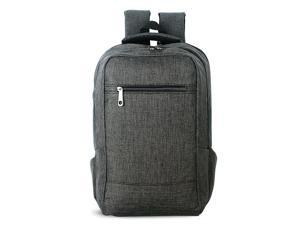 SUNSKY Universal Multi-Function Canvas Cloth Laptop Computer Shoulders Bag Business Backpack Students Bag, Size: 43x28x12cm, For 15.6 inch and Below Macbook, Samsung, Lenovo, Sony, DELL Alienware,etc