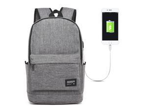 SUNSKY Universal Multi-Function Oxford Cloth Laptop Shoulders Bag Backpack with External USB Charging Port, Size: 45x31x16cm, For 15.6 inch and Below Macbook, Samsung, Lenovo, Sony, DELL Alienware