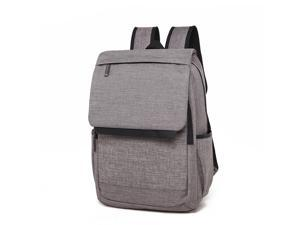 SUNSKY Universal Multi-Function Canvas Laptop Computer Shoulders Bag Leisurely Backpack Students Bag, Size: 42x30x12cm, For 15.6 inch and Below Macbook, Samsung, Lenovo, Sony, DELL Alienware, CHUWI