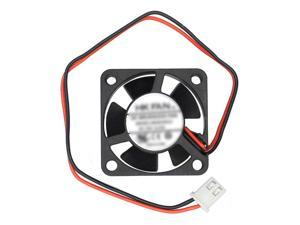 SUNSKY Cooling Fan 30mm 2-pin 12V VGA Card Cooler for PC Computer Case Bearing Brushless  30mm x 30mm x 10mm (Screw distance: 30mm)